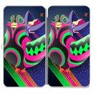 Bird Fairy Colorful Flying Cartoon Artwork - Womens Taiga Hinge Wallet Clutch