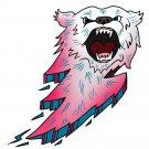 Bear Bolt Lightning Animal Cartoon Logo - Vinyl Sticker