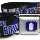 Dr. Who BBC Seatbelt Belt - Weeping Angels THE ANGELS HAVE THE PHONE BOX