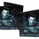 """Big Bang Theory CBS Comedy TV Show - """"Bazinga!"""" w/ Sheldon Cooper Posing Bi-Fold"""
