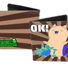 "Bravest Warriors - ""OK!"" Catbug Cute Pose w/ Stripes Bi-Fold Wallet"