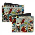 Marvel Comics Bi-Fold Wallet - Iron Man Super Classic Comic Book Design