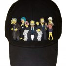 Funny Cartoon & Political TV Show Parody Characters - Black Adjustable Cap Hat