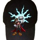 "Game Parody ""The Plungers"" Comic Hero Character 6 - Black Adjustable Cap Hat"