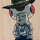"Parody ""Walking Plumbers"" TV Character 2 - Plywood Wood Print Poster Wall Art"