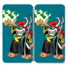 "Game Parody ""The Plungers"" Comic Character 5 - Womens Taiga Hinge Wallet Clutch"