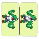 """Game Parody """"The Plungers"""" Comic Character 3 - Womens Taiga Hinge Wallet Clutch"""