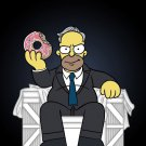 Cartoon & Political TV Show Parody Character 1  - Rectangle Refrigerator Magnet