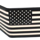 United States of America Patriotism Stars & Stripes B & W Bi-Fold Wallet