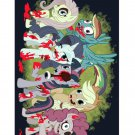 My Little Zombies Parody TV Horse Show - FITS iPhone 4 4s Plastic Snap On Case