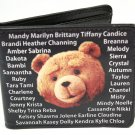 Ted Girls Names Wallet