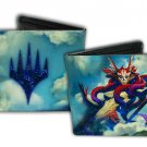 Magic The Gathering Bi-Fold Wallet - Logo w/ Mystical Fantasy Creature Woman