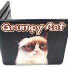 Grumpy Cat - Face w/ Text Logo Bi-Fold Wallet