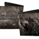Dungeons and Dragons Bi-Fold Wallet - Text Logo w/ Medieval Warriors