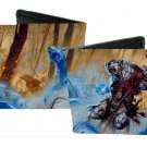 Dungeons and Dragons Bi-Fold Wallet - Fantasy Mystical Creatures Fighting Forest