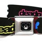 Deadmau 5 Neon Logos Seatbelt Belt