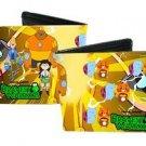 Bravest Warriors - Chris Beth Wallow Danny Catbug & Impossibear Bi-Fold Wallet