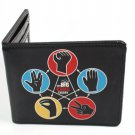 Big Bang Theory CBS Comedy TV Show - Hand Symbols Bi-Fold Wallet