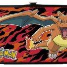 Pokemon Charizard Fire Dragon on Red Lady Bi-Fold Hinge Wallet
