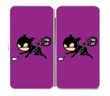 """Part-Time JOB Rat Catcher"" Comic Parody - Womens Taiga Hinge Wallet Clutch"