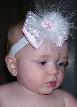 Boutique Baby Bow ~Maribou~