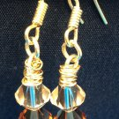 Mixed Topaz Swarovski Crystal Earrings