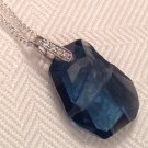 Montana Blue Swarovski Rock Necklace