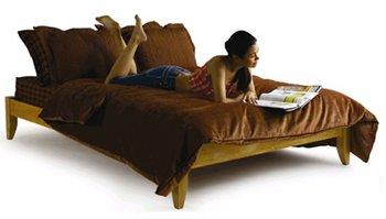 Winchester queen size platform bed