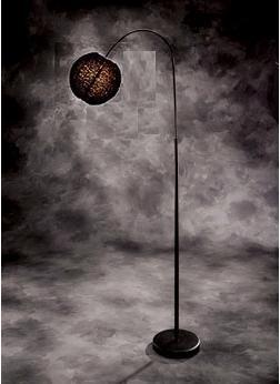 Black Spector Floor Lamp