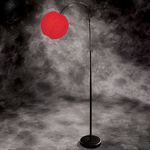 Red Spector Floor Lamp