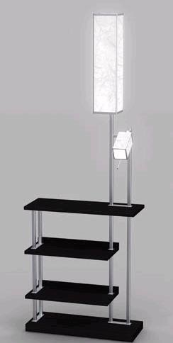 Black Bridge Floor Lamp