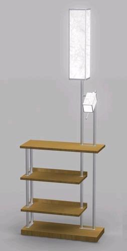 Natural Bridge Floor Lamp