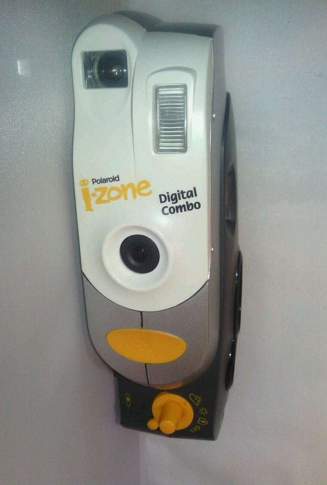 POLAROID i ZONE DIGITAL COMBO INSTANT FILM CAMERA**POWERS ON**AS IS