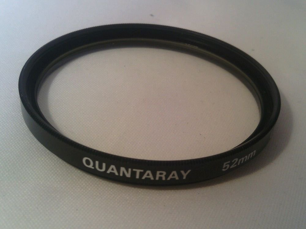 LN**QUANTARAY 52MM UV CAMERA FILTER LENS JAPAN