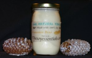 16 oz Soy Candles - Warm Cinnamon Buns