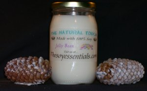 16 oz Soy Candles - Jelly Bean
