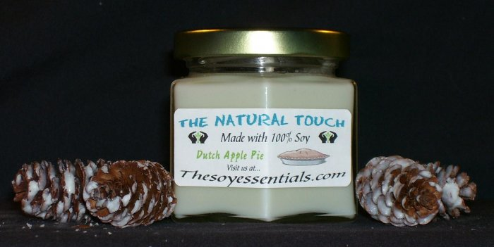 4 oz Soy Candle - Dutch Apple Pie