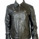 NWT Men's Bomber Leather Jacket Style M48