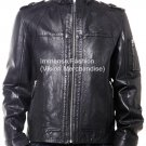 NWT Men's Rouge Squadron Bomber Leather Jacket Style MD-160