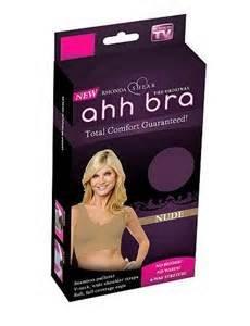 Ahh bra Medium by Rhonda Shear(3 in a bag White, Black, Beige)Seamless leisure Ahh Bra