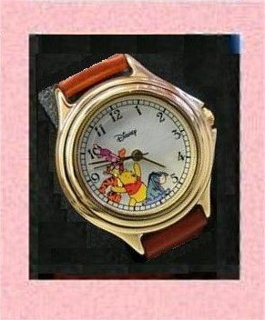 DISNEY SEIKO WINNIE & FRIENDS WATCH COLLECTIBLE NEW $24.95 FREE SHIP