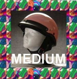HCI LIGHTEST DOT MOTORCYCLE HELMET PINK MEDIUM NEW 2012