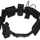 Black Law Enforcement Modular Belt
