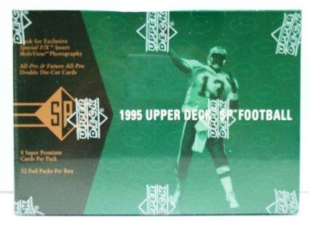 1995 - Upper Deck - SP - NFL Football - Trading Cards