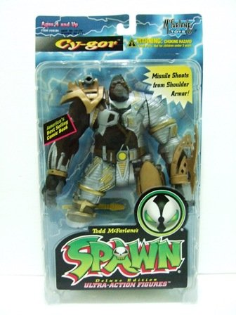 1996 - Cy-Gor - Action Figures - McFarlane Toys - Spawn - Series 4