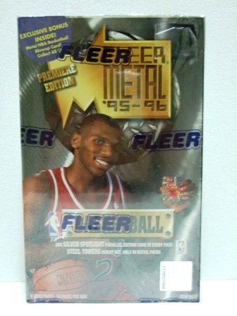 1995/96 -  Fleer - Metal - Series 1 - NBA Basketball - Sports Cards