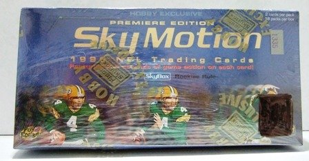1996 - Skybox - Sky Motion - NFL Football - Trading Cards