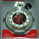 Michael Jordan #23 Polish Chrome Pocket Watch