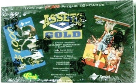 1995 - Classic - Assets - Gold Phone Cards