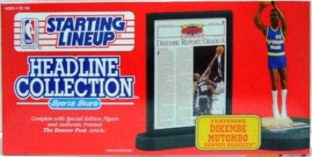 1992 - Dikembe Mutombo - Action Figures - Starting Lineups - Headline - Nuggets